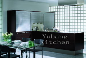 Hot Sale New Modern High Glossy Wood Kitchen Cabinet pictures & photos
