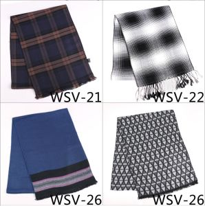 New Design Men′s Fasion Viscose Scarf (Wsv-21) pictures & photos