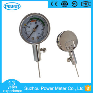 40mm Stainless Steel 20psi Ball Pressure Gauge pictures & photos