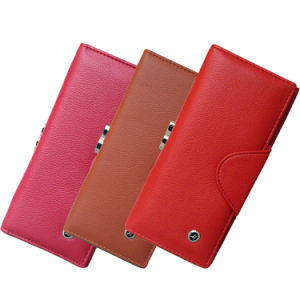 Lady′s Leather Wallet Quality Inspection and Testing pictures & photos