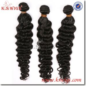 K. S Wigs 100% Malaysian Hair Extension Natural Human Hair pictures & photos