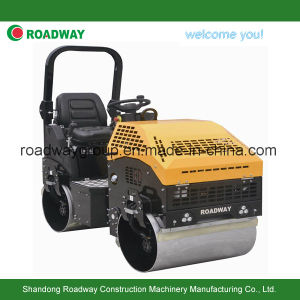 1 Ton Ride on Tandam Vibratory Roller pictures & photos