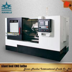 Knd Control System Slant Bed CNC Lathe (CK-63L) pictures & photos