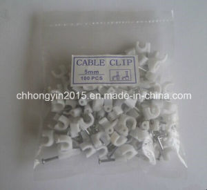 Hot Sales High Quality Round Plastic Product Cable Clip pictures & photos