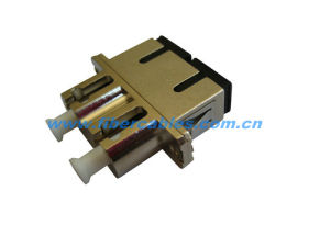 Optic Fiber Hybrid Adapter SC-LC Duplex