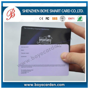 Cr80 Standard 30mil PVC RFID Card pictures & photos
