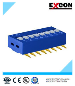 Electric DIP Switch Excon Ra-08-B Slide Switch Key Switch pictures & photos