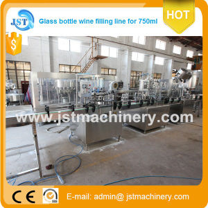 2000 Bph Glass Bottle Isobaric Filling Production Machines pictures & photos