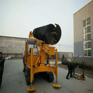 Long Screw Auger Bore Pile Drilling Machine (Manufacturer) pictures & photos