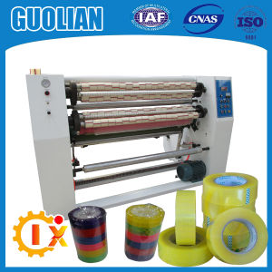 Gl-215 Transparent Carton Tape Slitting Machine pictures & photos