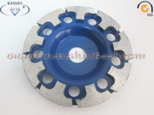 125mm T-Shape Diamond Cup Wheel for Granite 6$/PC pictures & photos