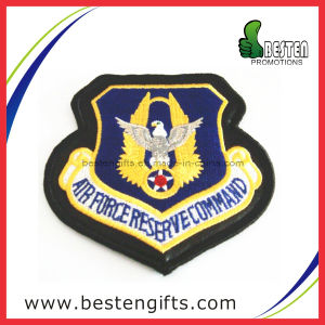 Custom Police Round Shape Badge Embroidery Patch (EP00013)