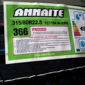 10r22.5 Annaite 366 Truck Tire for on/off Road Use pictures & photos