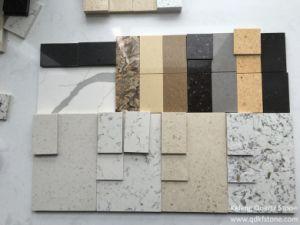 Kefeng-408 Black Picasso Color House Interior Design Quartz Stone Tile
