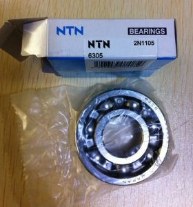 High Precision Deep Groove Ball Bearing NTN6305 Wheel Bearing pictures & photos