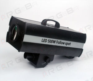 500W DMX Control RGBW Narrow Beam 23 Degree Sharp Beam 3200k-9000k LED Follow Spot Stage Light pictures & photos