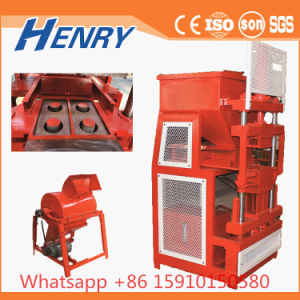 Earth Brick Making Machine Hr2-10 Hydraulic Soil Clay Interlocking Brick Making Machine Building Construction Material pictures & photos