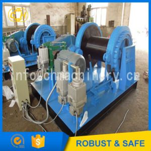 Mining Stage Hoist Winch Synchronous Tension pictures & photos