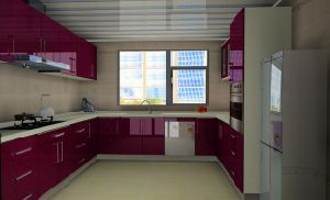 Standard Kitchen Furniture (WJ-K109)