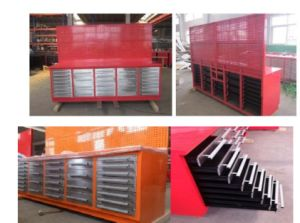 Workshop Garage Wood Top Metal Steel Workbench pictures & photos