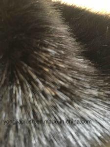 Fake Mink Hair Black Mink Imitation Fur Faxu Fur pictures & photos