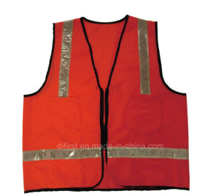 High Visibility Reflective Safety Vest with En471 (DFV1019) pictures & photos