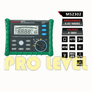 Large LCD Display Earth Resistance Tester (MS2302) pictures & photos