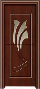 Asia Latest Design PVC Interior Wooden Doors (EI-P154) pictures & photos