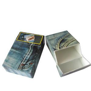 Automatic Open Plastic Cigarette Case