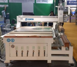 CNC Machine with 3D Rotary Attachement (Dia.: 400mm, Length: 2500mm) pictures & photos