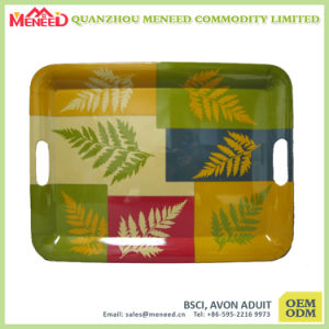 Supermarket Promotion Plastic Rectangular Serving Tray pictures & photos