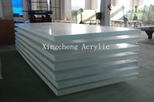 Transparent Cast Plexiglss Sheet for Aquarium Swimming Pool and The Other Oceanarium Project pictures & photos
