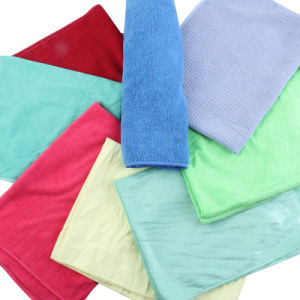 All Kinds Microfiber Cleaning Cloth (stock) pictures & photos