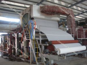 1880 Single Cylinder Tissue Machine Toilet Paper Machine (3-5t/d) pictures & photos