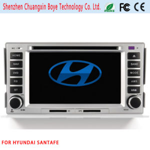 Car DVD Player with Bluetooth for Hyundai Santafe pictures & photos