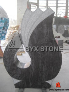 European Style Granite Stone Carving Monument Tombstone pictures & photos