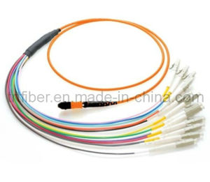 MTP / MPO OM1 Multimode Fiber Optic Patch Cord pictures & photos