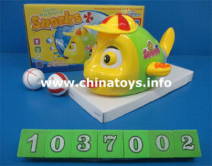 Hot Sale Plastic Electric Fish Toys, Kids Blow The Balloontoys (1037002) pictures & photos