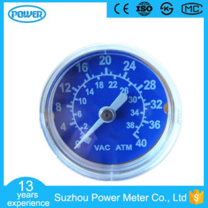 40mm High Quality White Plastic Case Medical Pressure Gauge Manometer pictures & photos