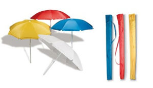 Portable Colorful Sunshade Beach Umbrella pictures & photos
