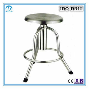 Height Adjustable Stainless Steel Operating Stool pictures & photos