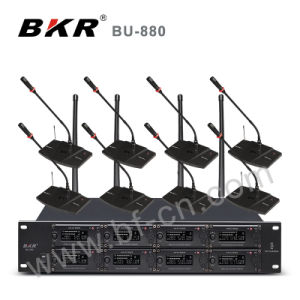 Bu-880 Multi Channel Wireless Microphone System pictures & photos