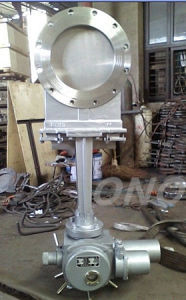 Stainless Steel Electric Operated Knife Gate Valve pictures & photos