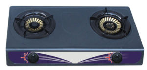 Cheaper Model 100X120mm Double Burner Gas Stove