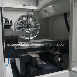 Awr2840PC Diamond Cut Mag Wheel Repair&Polish CNC Lathe Machine pictures & photos