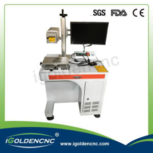 20W 30W Fiber Laser Marking Machine for Metal and Nonmetal pictures & photos
