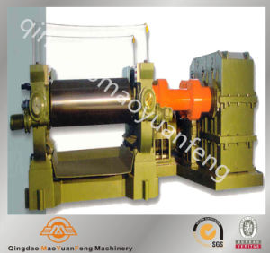 Hardened Gear Two Roll Rubber Open Mixing Mill Machine pictures & photos