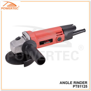 Powertec 100mm 570W China Electric Angle Grinder (PT81125) pictures & photos