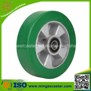 Elastic Polyuerthane Mold on Aluminium Core PU Wheel for Caster pictures & photos