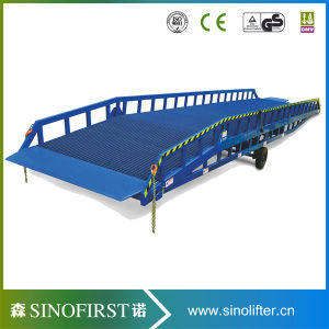 10ton 12ton Hydraulic Electric Movable Yard Ramp Leveler pictures & photos